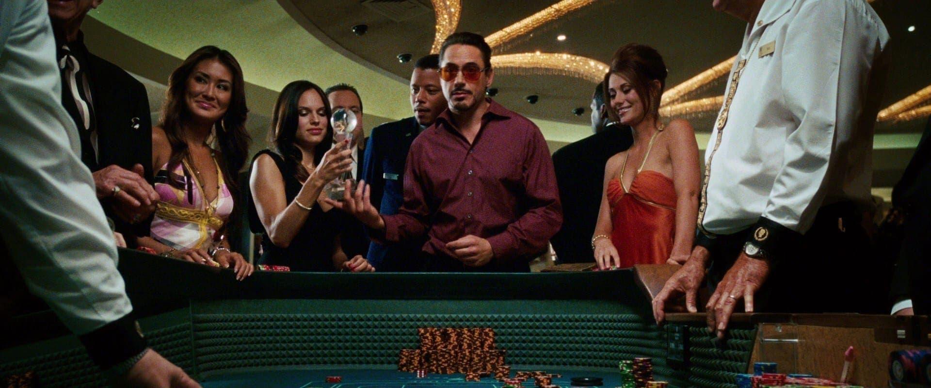 Tony Stark en el Caesar's Palace, Las Vegas