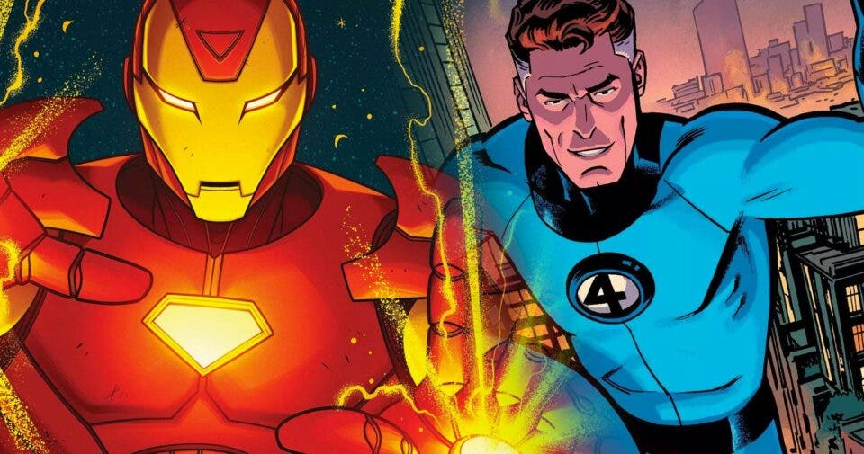 Iron Man y Reed Richards se podrían encontrar finalmente en las películas de Marvel