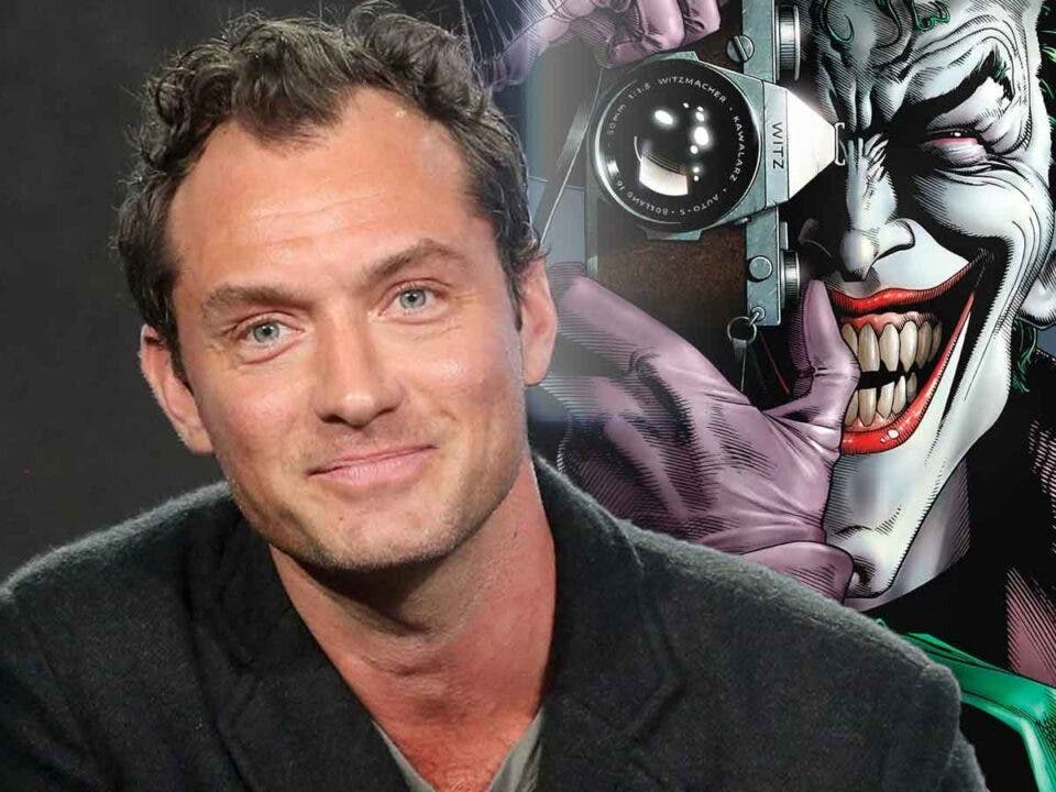 Jude Law podría interpretar un viejo Joker