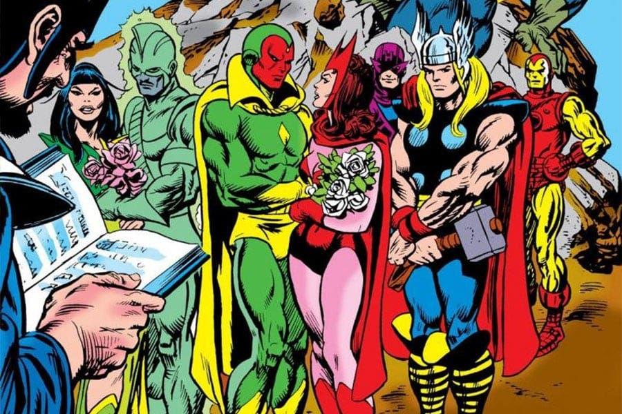 8 cómics que tienes que leer antes de ver WandaVision. La vision y bruja escarlata Vol 1