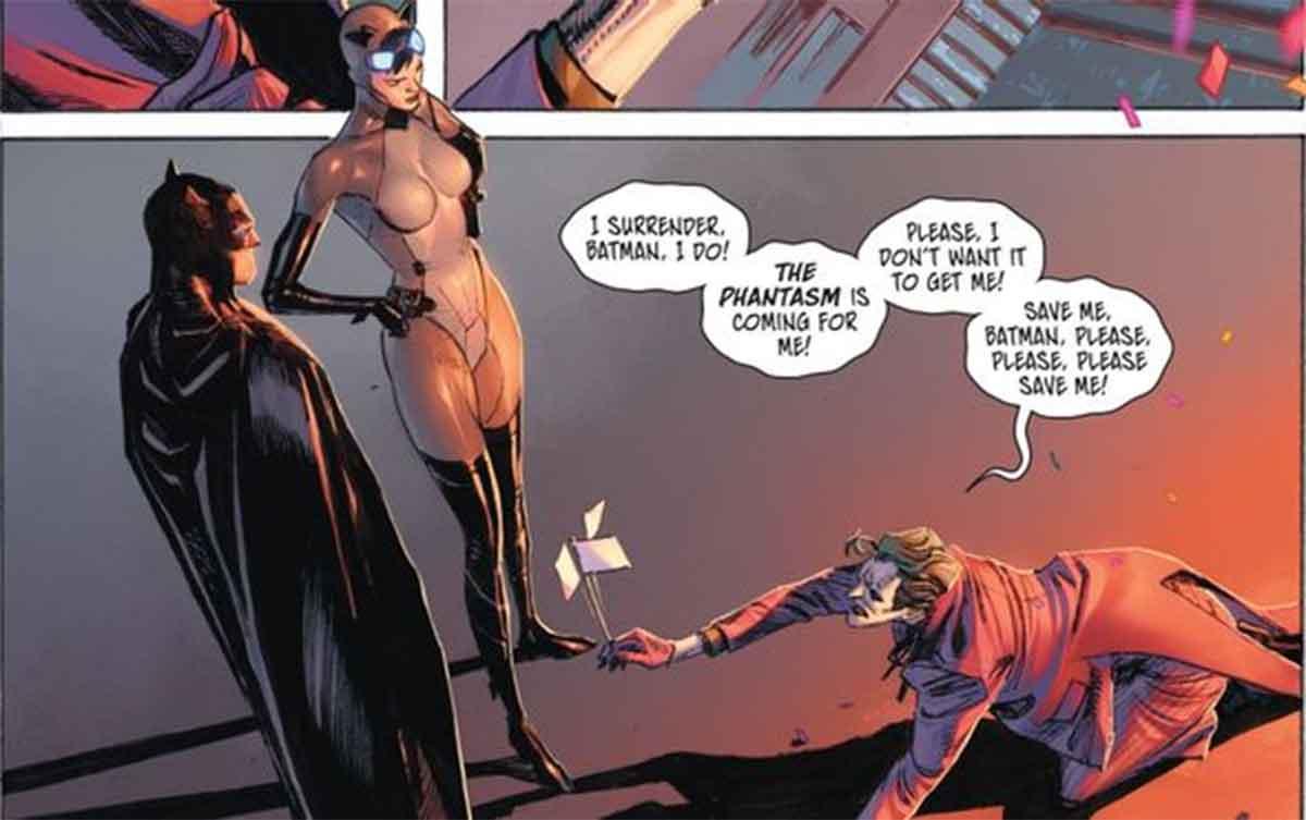Joker le tiene miedo a un villano de DC Comics