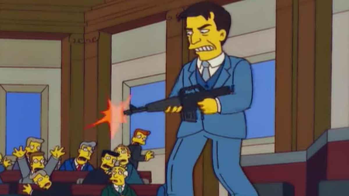 Los Simpson ya predijeron el asalto al Capitolio de Estados Unidos