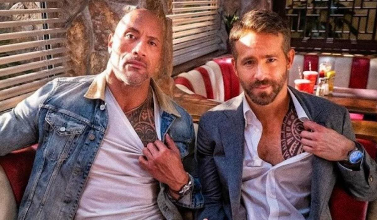 Dwayne Johnson y Ryan Reynolds