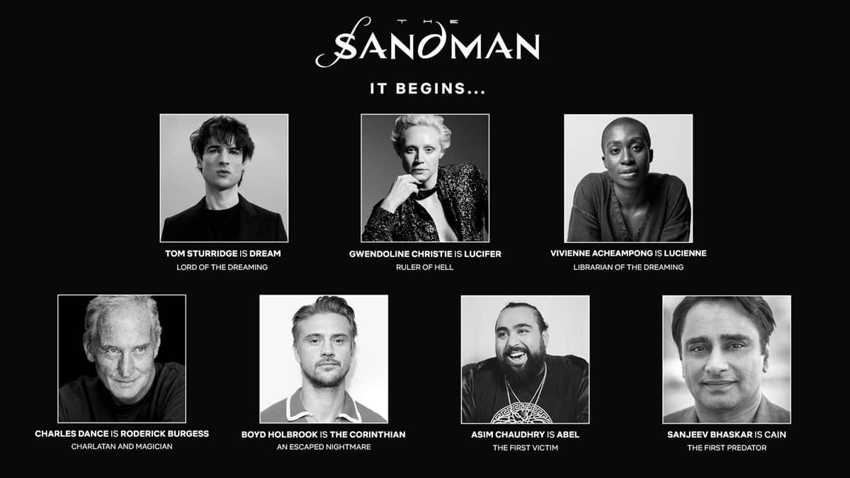 the Sandman Casting