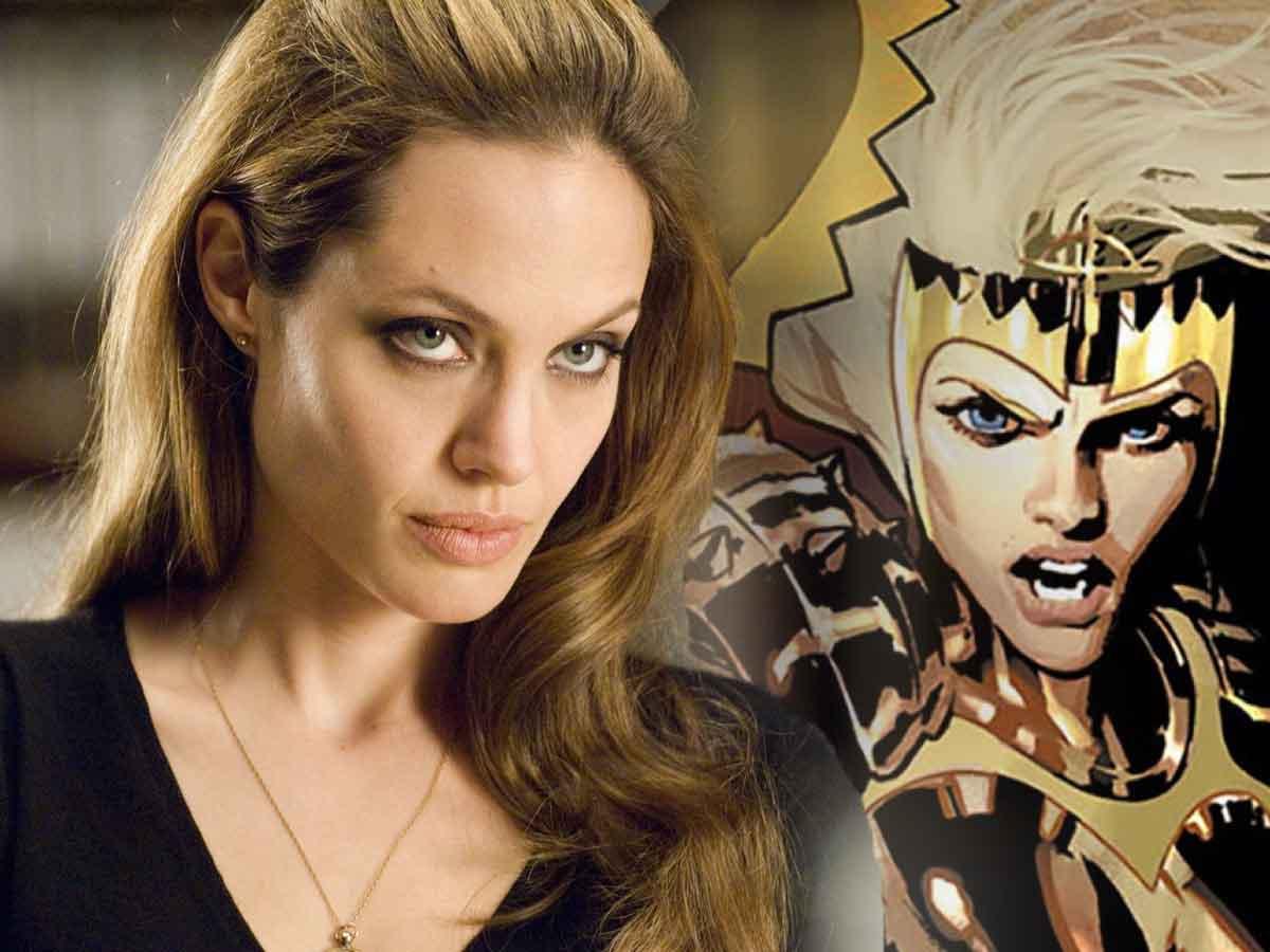 Angelina Jolie comparte entusiasmo con la película Los Eternos