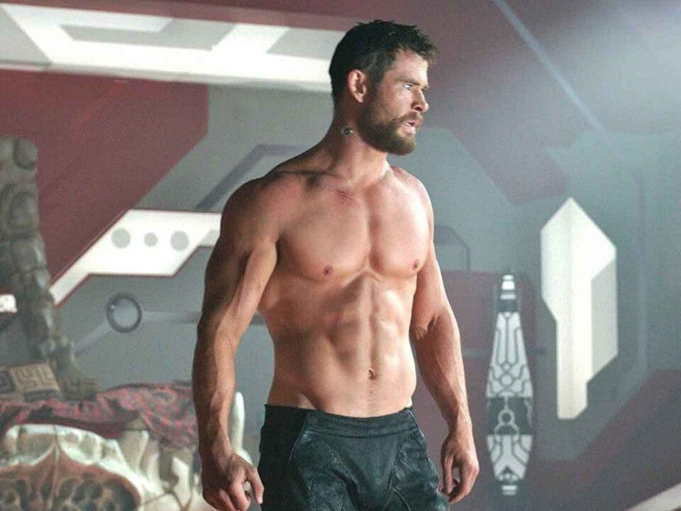 Chris Hemsworth nunca ha estado tan fuerte físicamente como en Thor 4