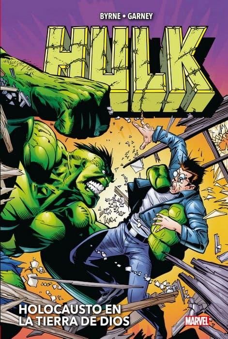 MARVEL OMNIBUS Hulk de John Byrne y Ron Garney