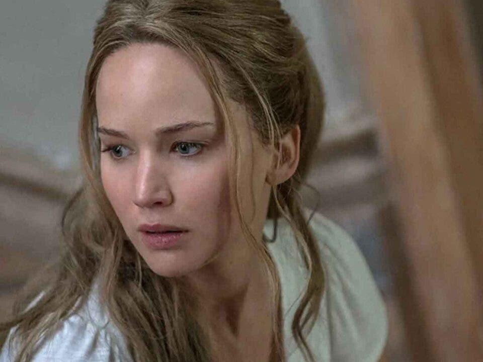 Jennifer Lawrence sufre una herida en la cara rodando su nueva película