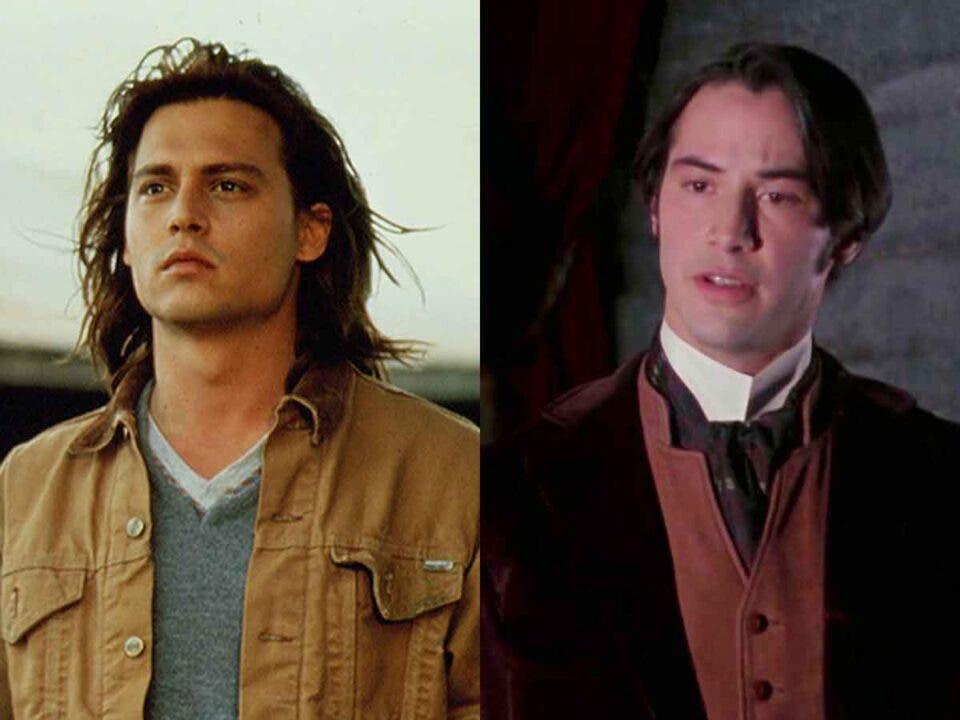 Motivo por el que Keanu Reeves remplazó a Johnny Depp en Drácula
