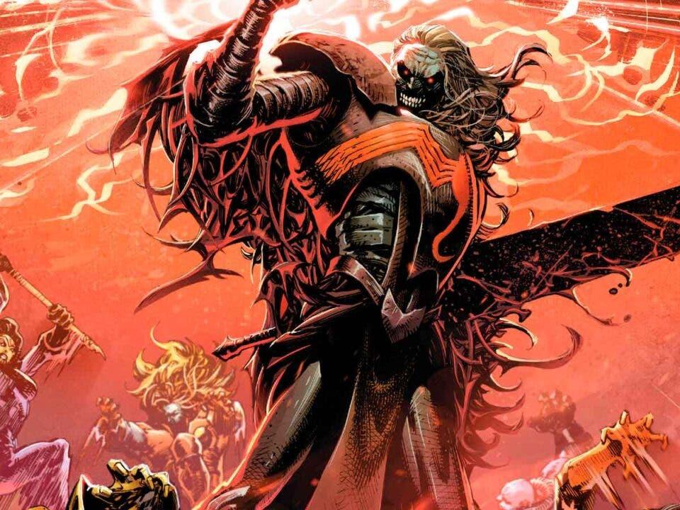 Knull King in black Marvel