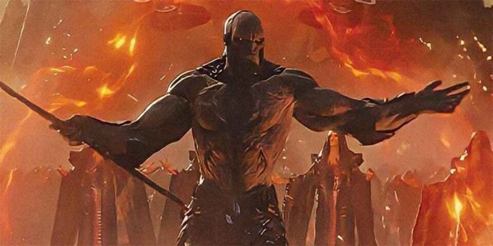 Darkseid en Justice League / Liga de la Justicia de Zack Snyder tiene 5 villanos más que la versión de 2017