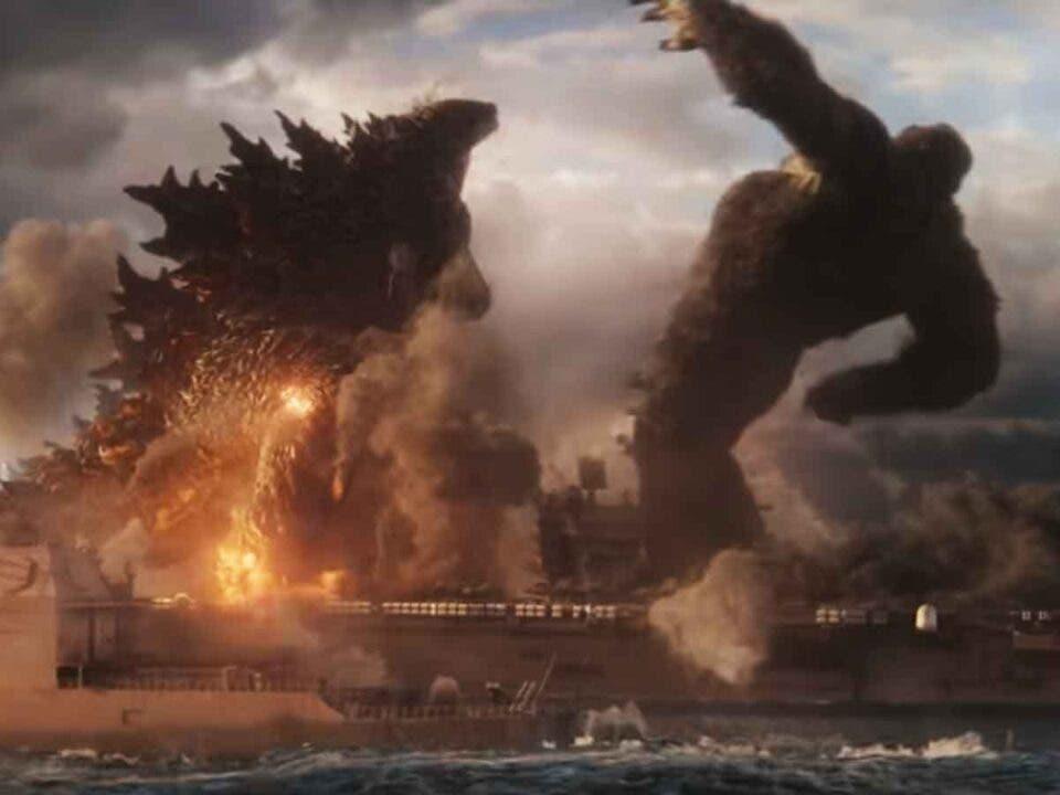 Nuevo tráiler lleno de acción de Godzilla vs Kong