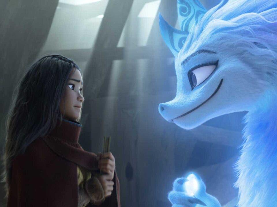 Raya y el Último Dragón película animada de Disney