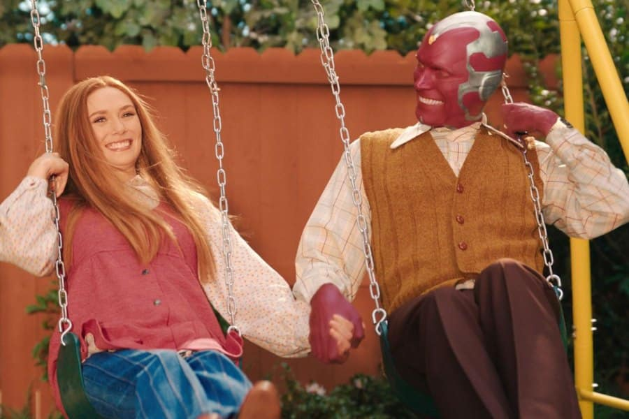Bruja Escarlata y Visión se inspiró en Thor: Ragnarok