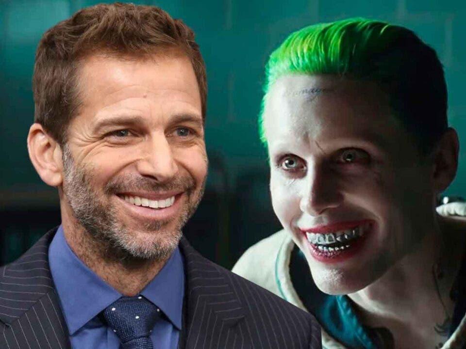Zack Snyder y Jared Leto preparan una película del Joker en solitario