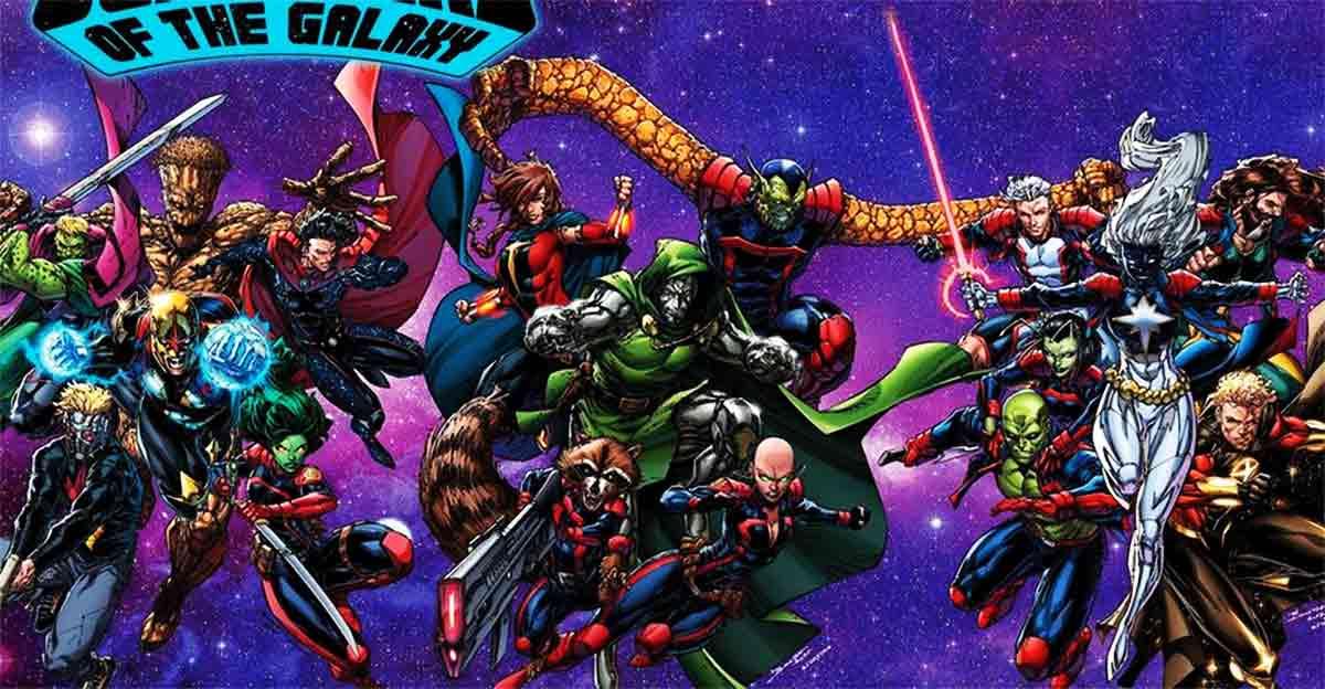 Doctor Doom se une a los Guardianes de la Galaxia