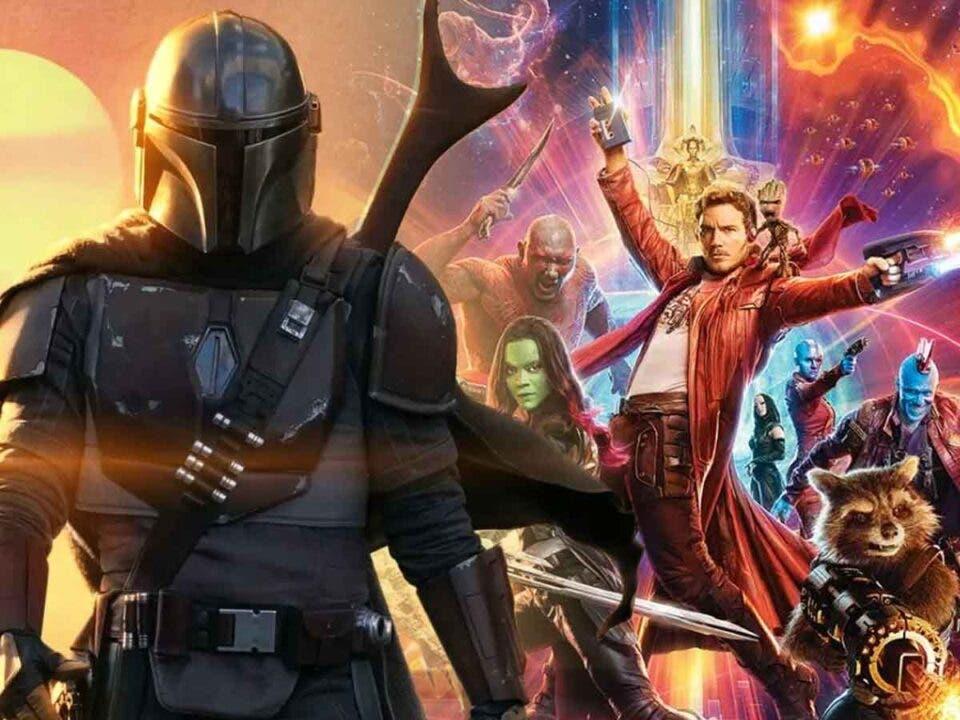 Guardianes de la Galaxia Vol 3 copiará a la serie de El Mandaloriano