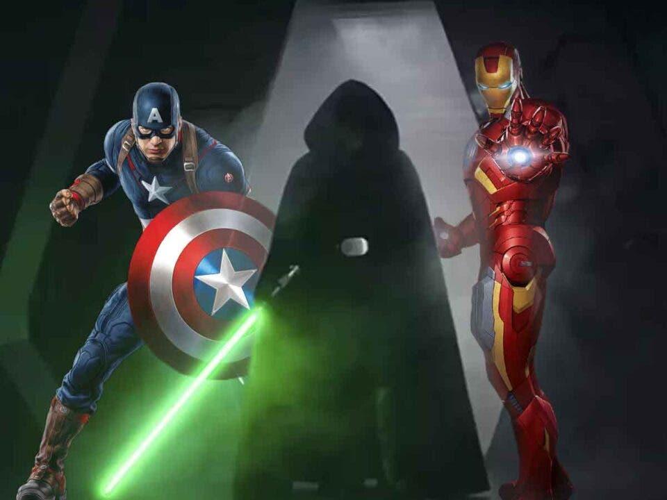 Un épico crossover entre Marvel Studios y Star Wars es imposible... Por ahora