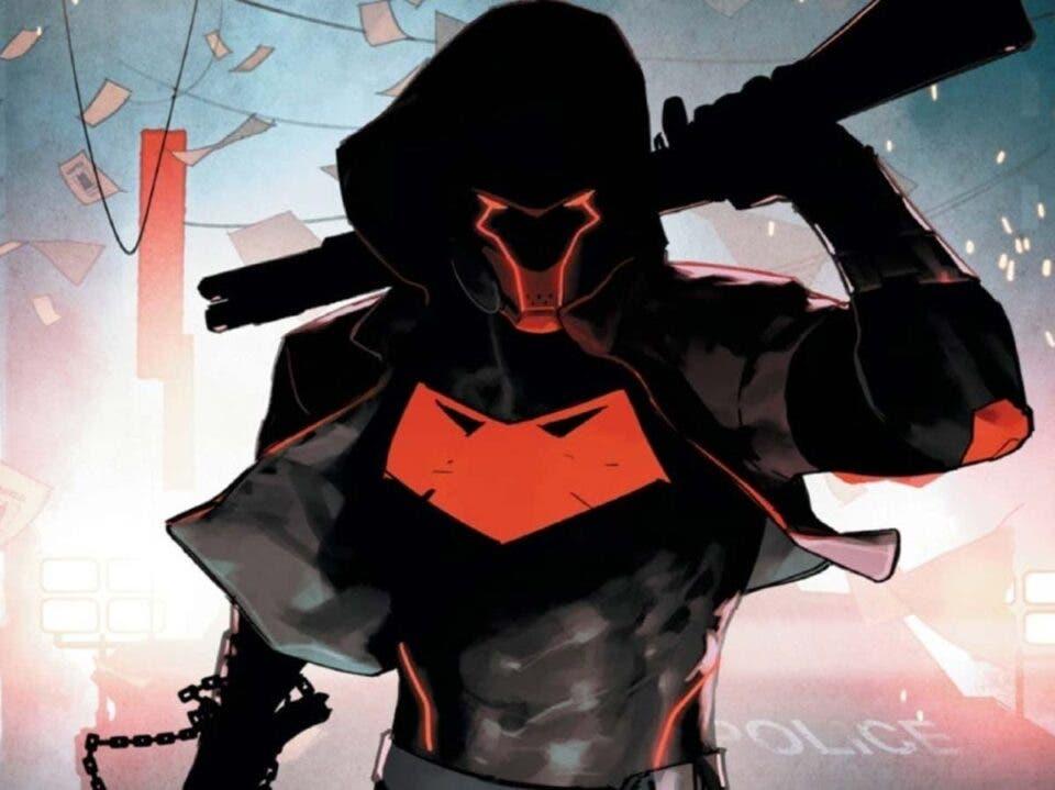 Capucha Roja da caza a la Batfamilia en Future State: Gotham