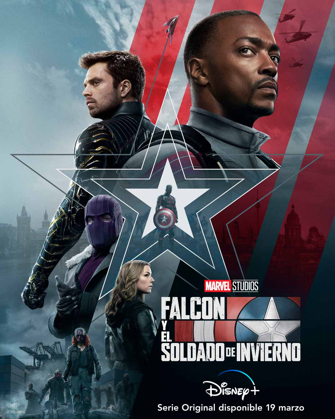 Falcon y el Soldado de invierno (2021) - Sinopsis, tráiler, noticias