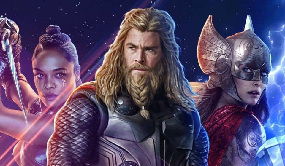 Thor: Love and Thunder. ¡Salieron a la luz nuevas imágenes!