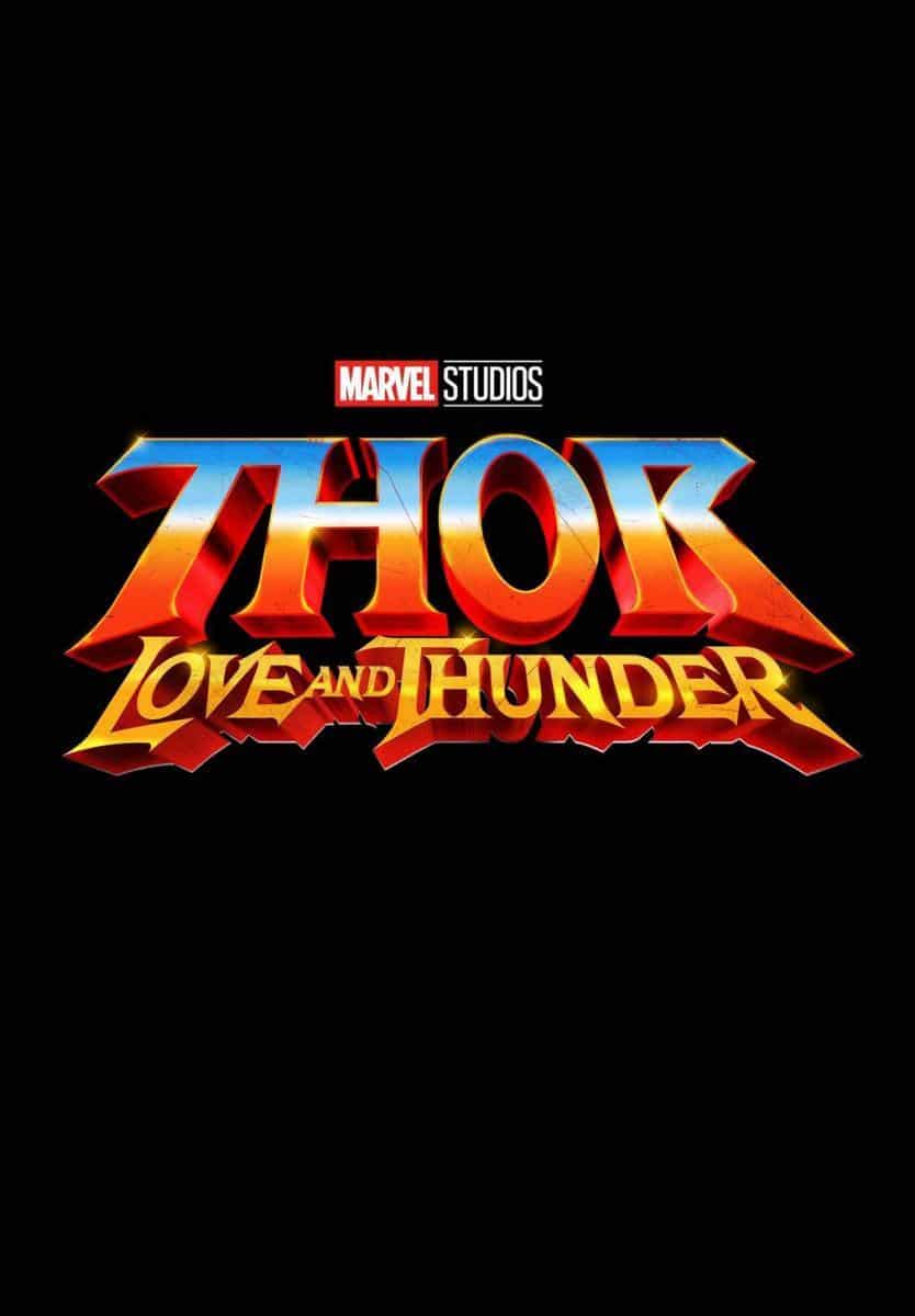 thor love and thunder poster