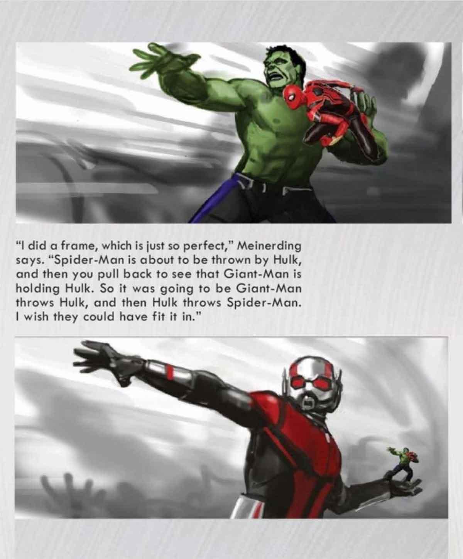 Vengadores: Endgame casi muestra un ataque imparable de 3 héroes