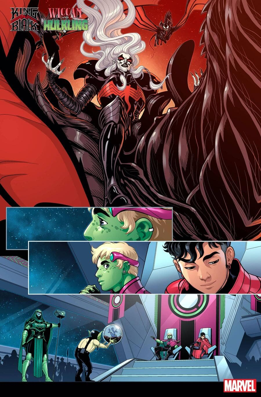 King in Black: Wiccan and Hulkling
