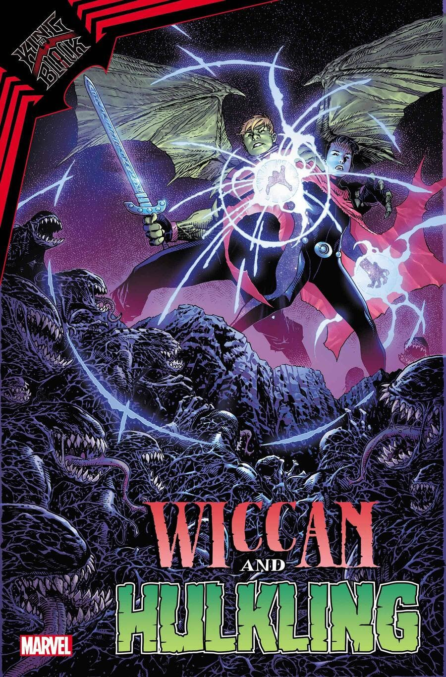 Marvel King in Black: Wiccan and Hulkling