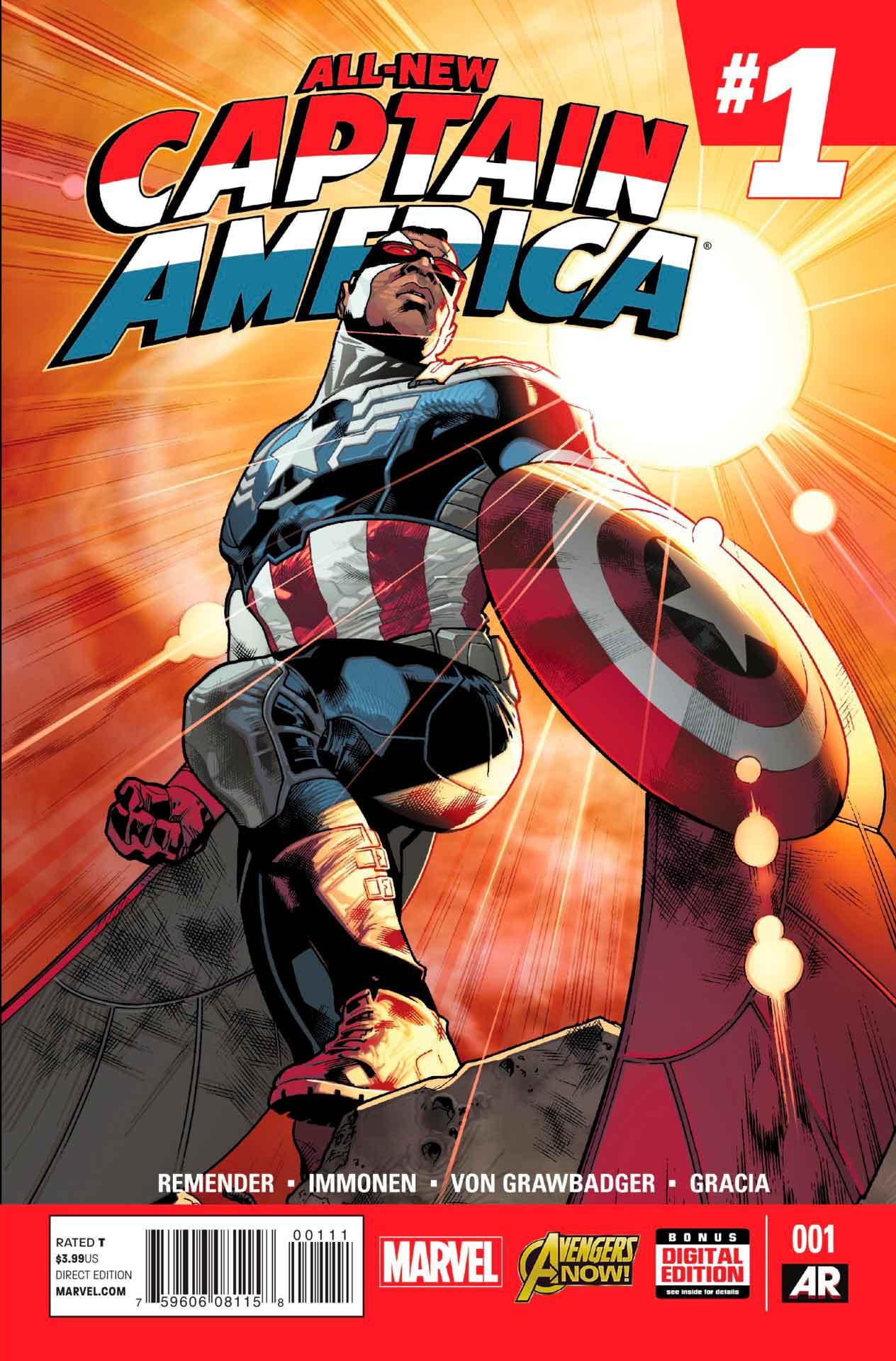 All New Captain America Vol 1. 1