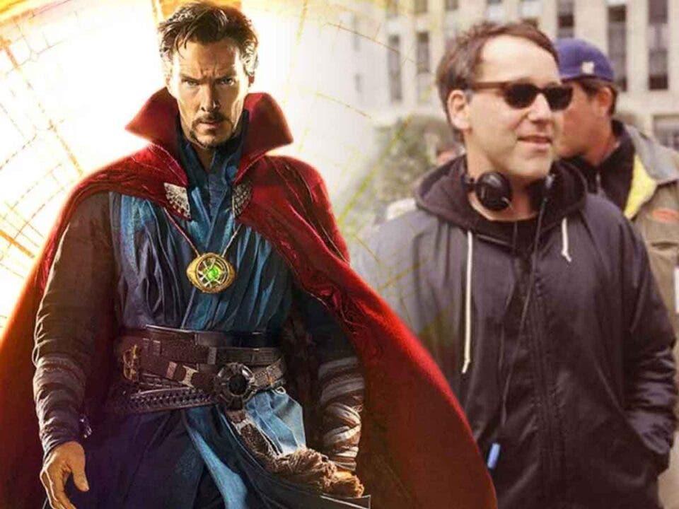 Benedict Cumberbatch está fascinado por Sam Raimi en Doctor Strange 2