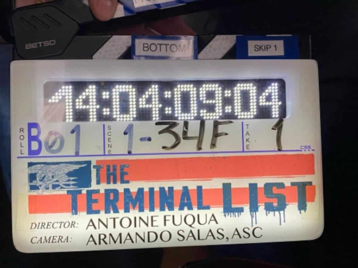 Chris Pratt está filmando serie llamada lista de terminales
