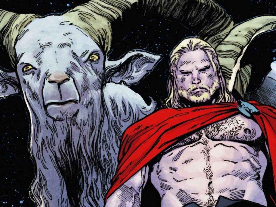 Filtran el aspecto de las cabras de Thor: Love and Thunder