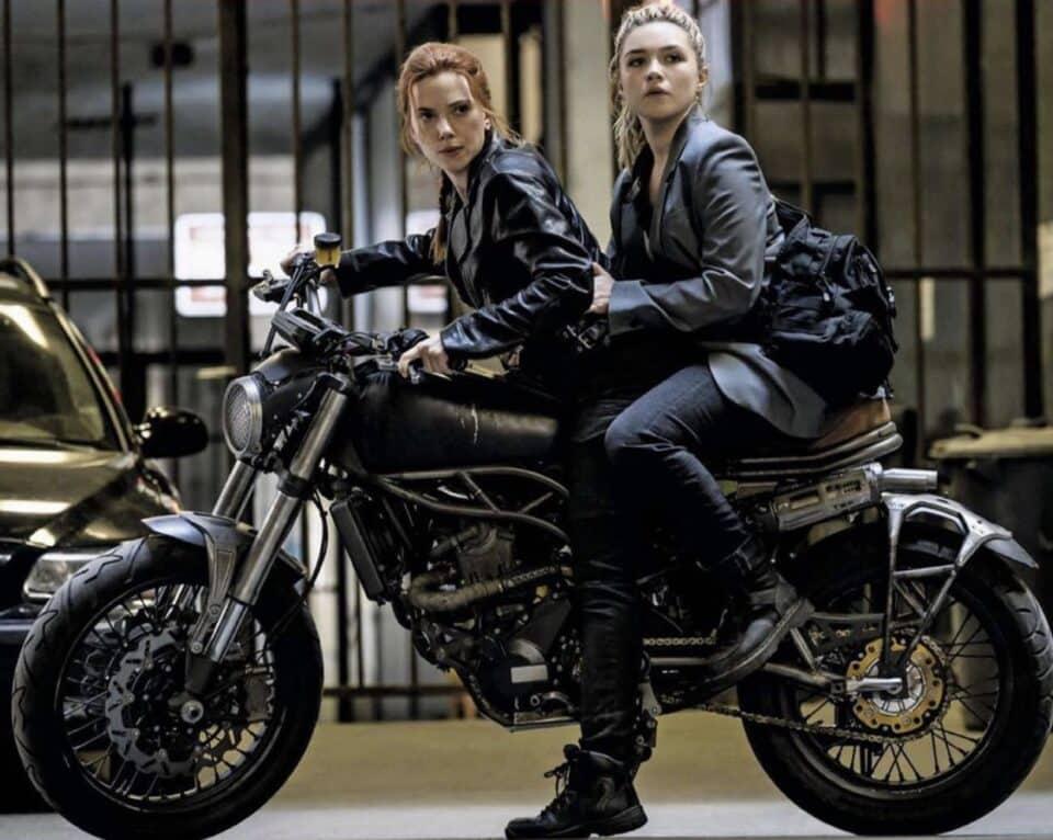 Florence Pugh y Scarlett Johansson rodaron enfermas Black Widow