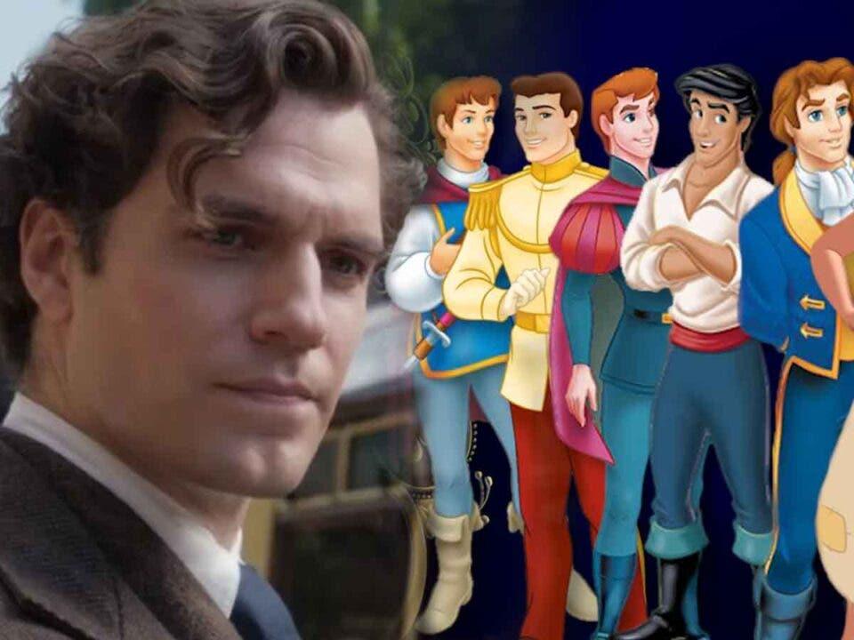 Henry Cavill quiere interpretar a un príncipe de Disney