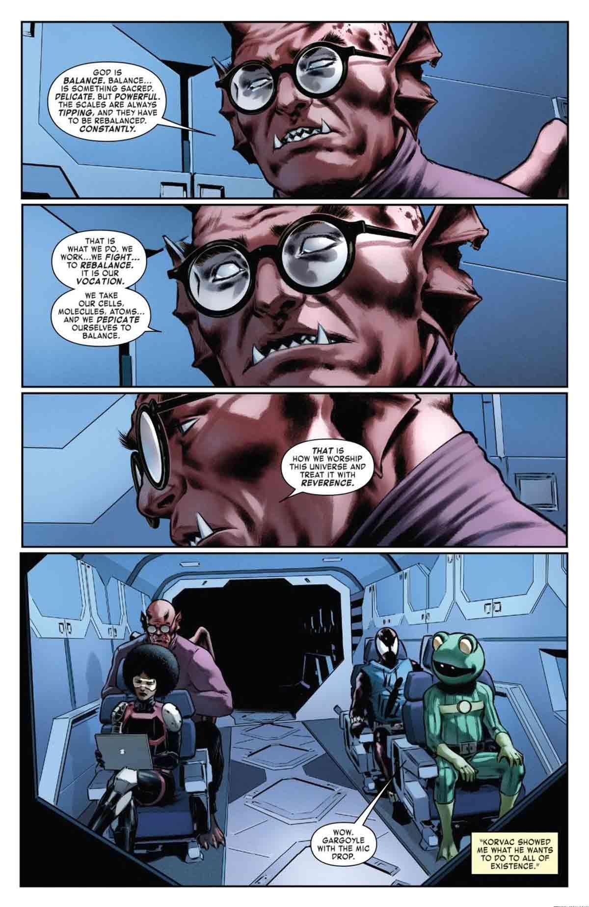 Marvel revela el verdadero propósito de los superhéroes