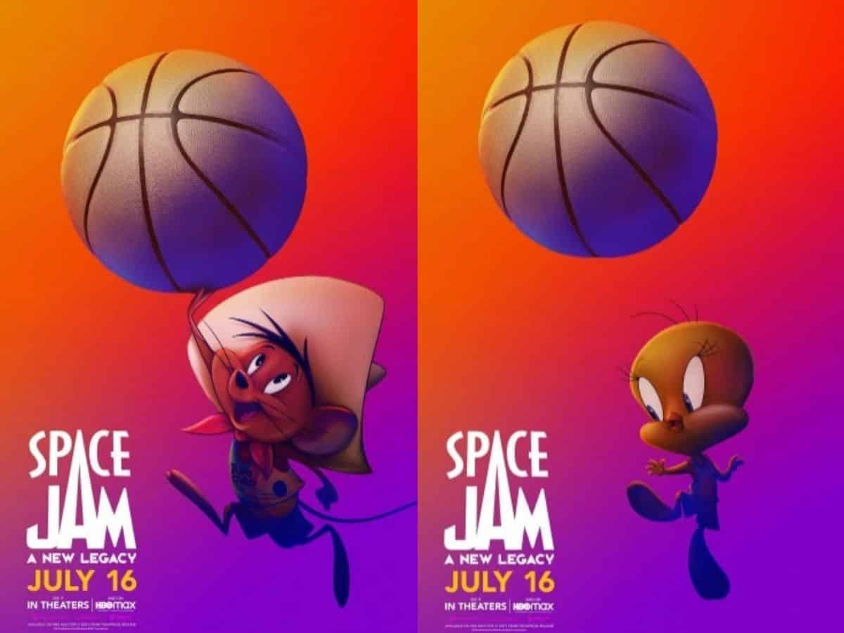 Space Jam: Un Nuevo Legado lanzo sus nuevos carteles de promoción