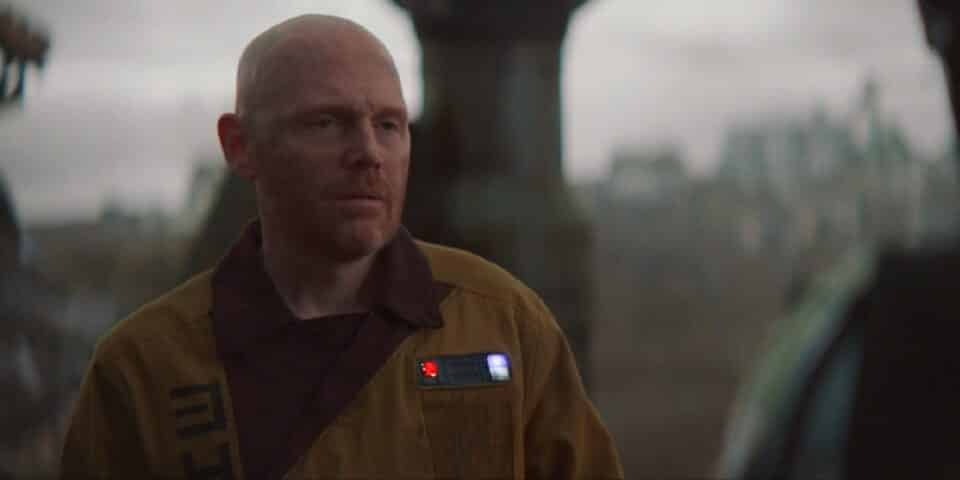 The Mandalorian: Bill Burr salió en defensa de Gina Carano