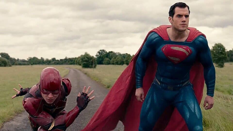 carrera de Superman vs the flash en Justice League de Joss Whedon