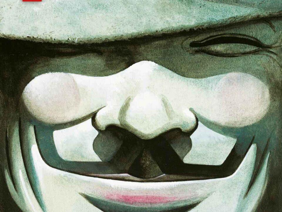 cubierta V de Vendetta