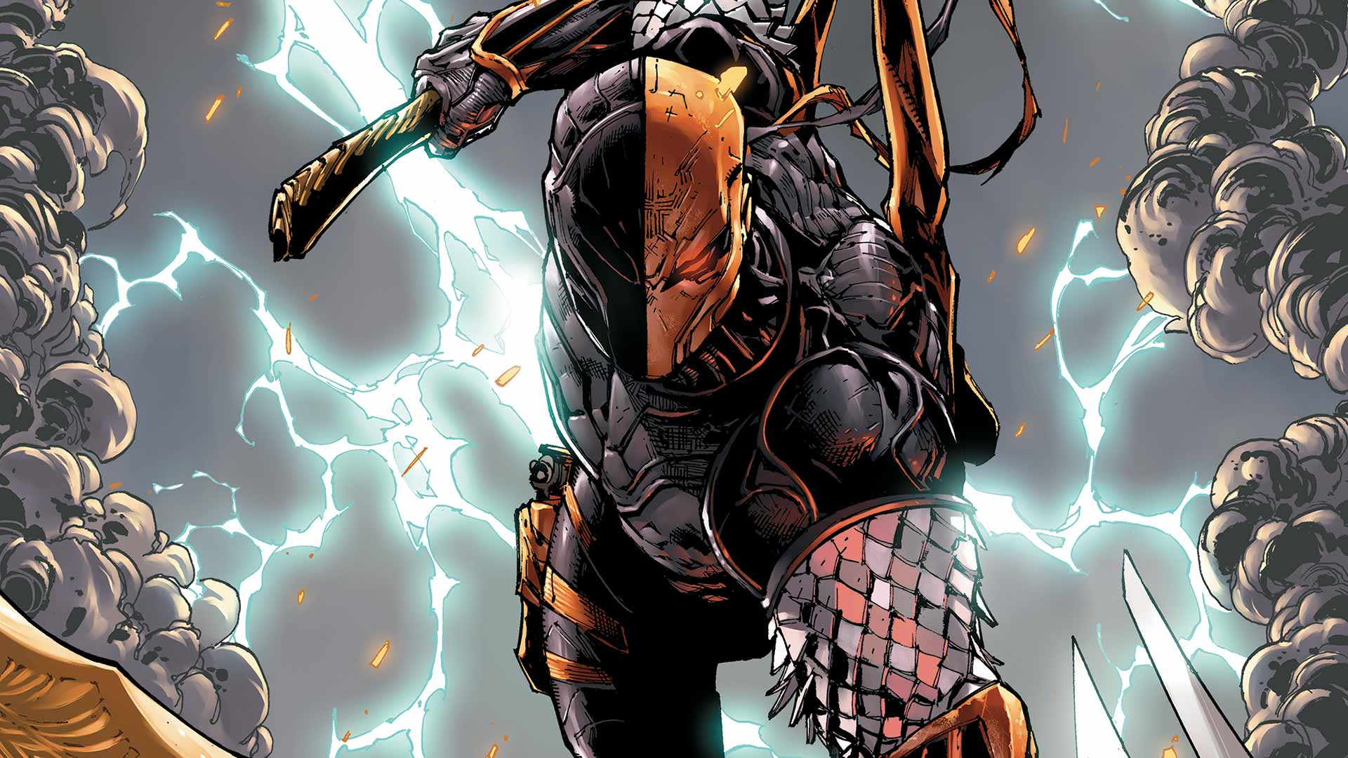 Descubre el top 4 de mejores antihéroes de DC comics - deathstroke