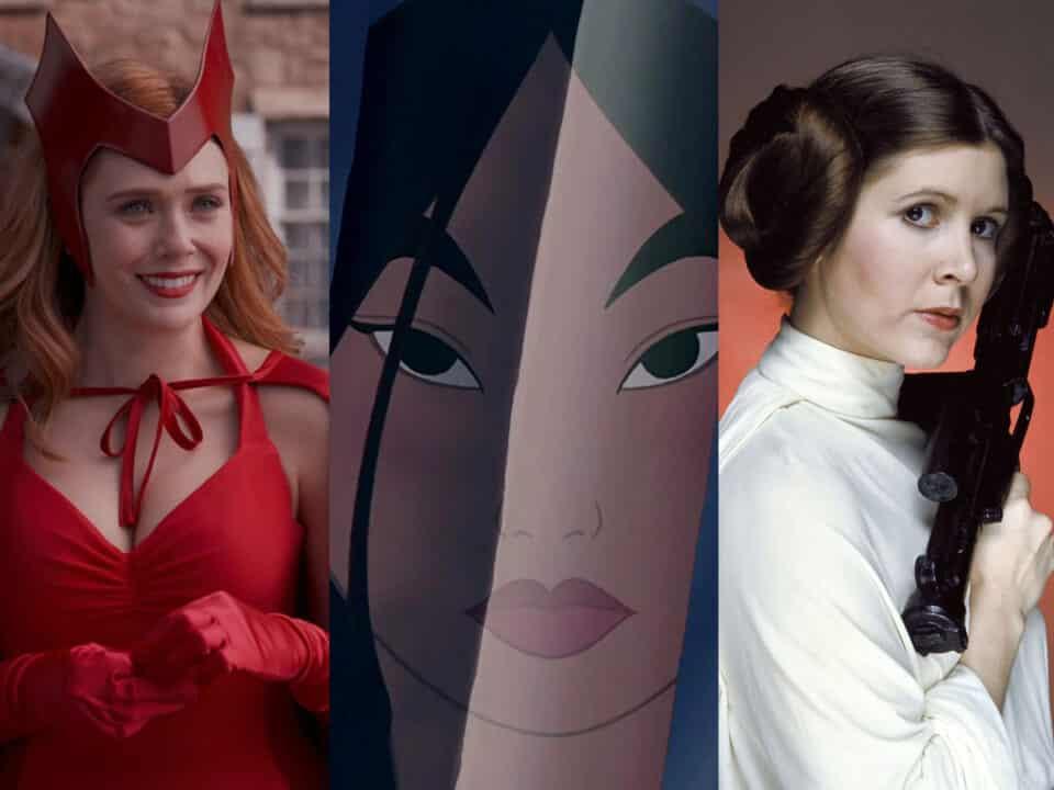 De Star Wars a Mulán: Los personajes femeninos en el cine