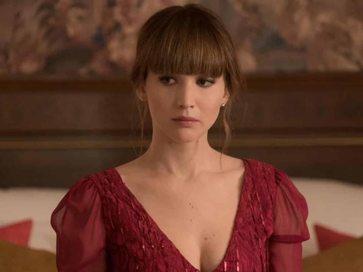 Jennifer Lawrence gorrión rojo