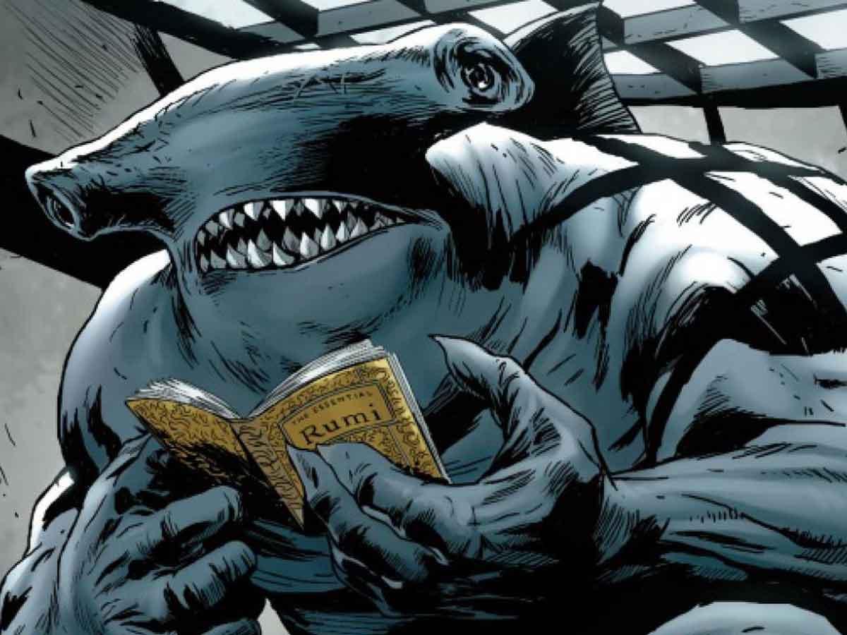 Motivo del rediseño de King Shark en El Escuadrón Suicida (2021)