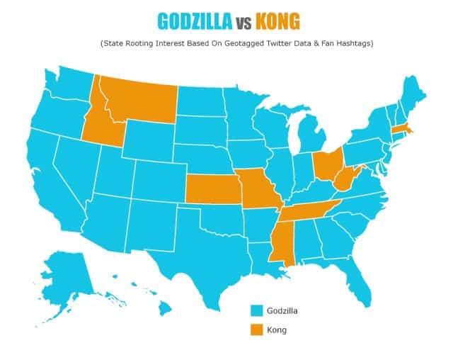 Godzilla vs Kong descubre cual es el favorito gracias a unas votaciones