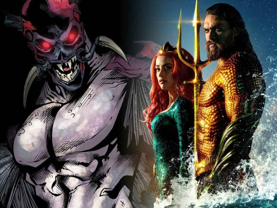 Aquaman 2 tendrá más fascinantes monstruos marinos