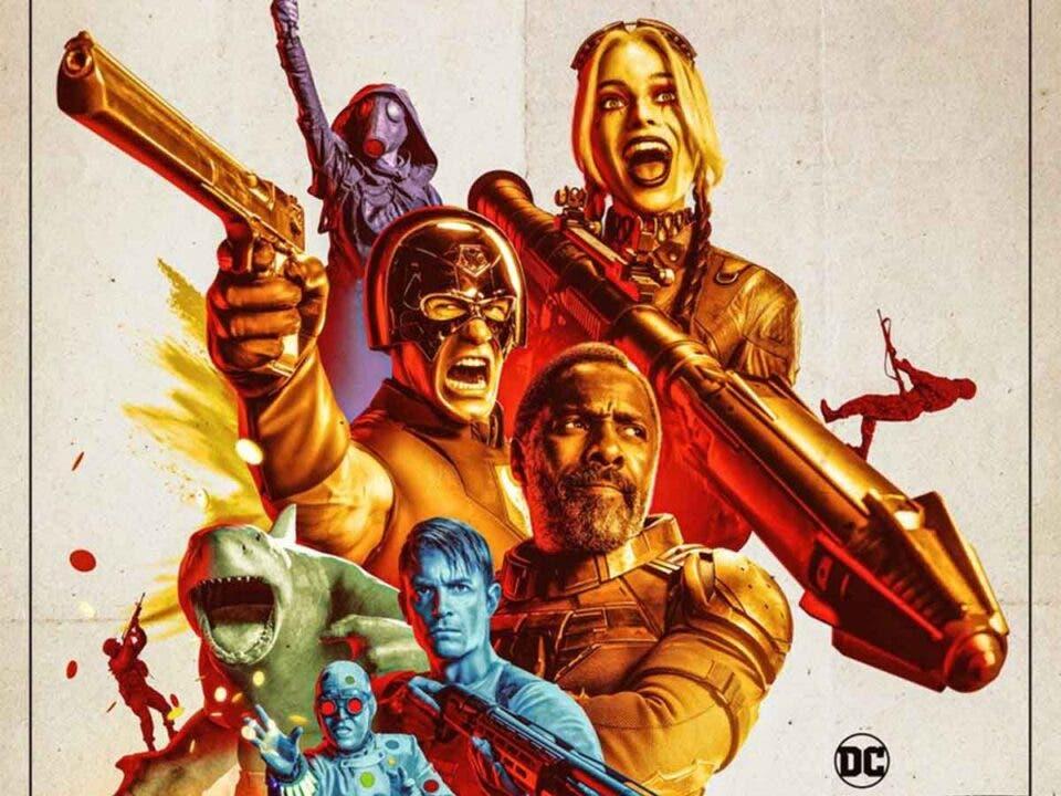 The Suicide Squad / El Escuadrón Suicida anuncia nuevo tráiler con un espectacular póster
