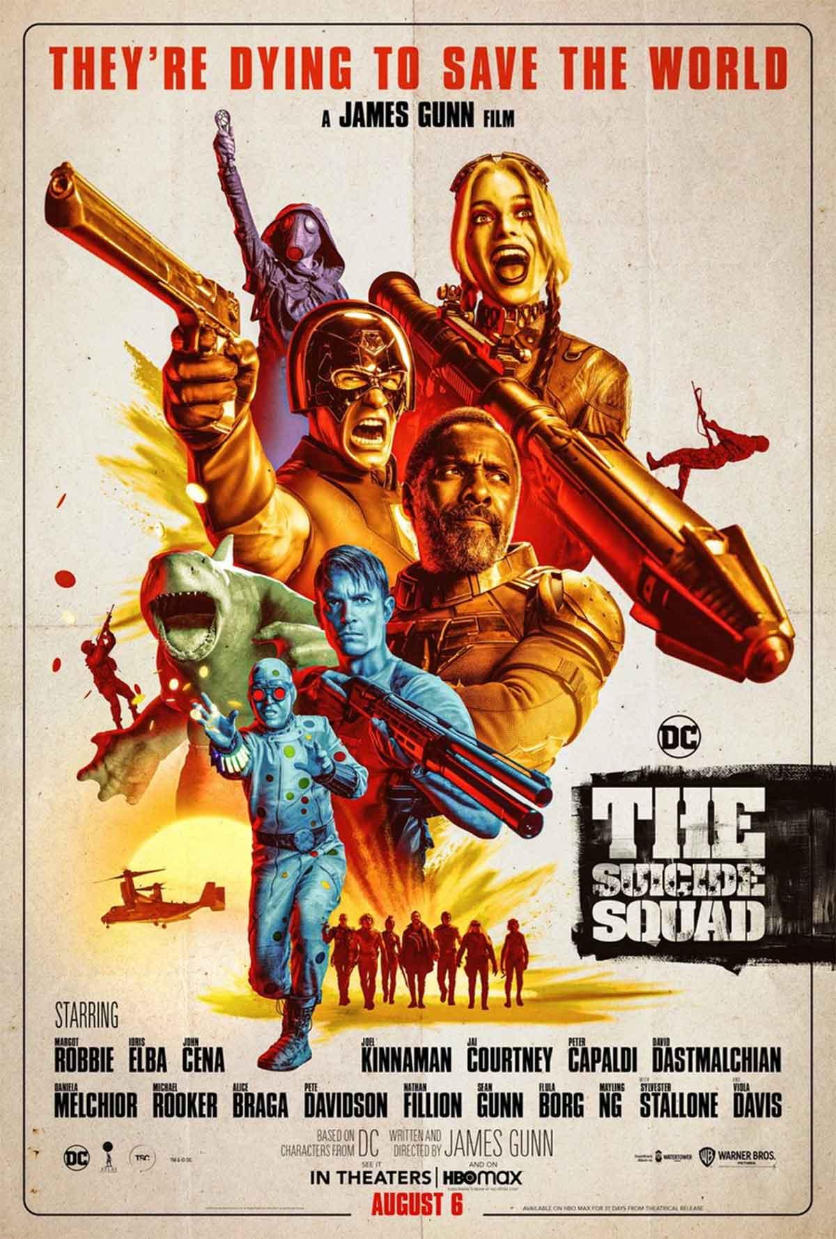 El Escuadrón Suicida anuncia nuevo tráiler con un espectacular póster