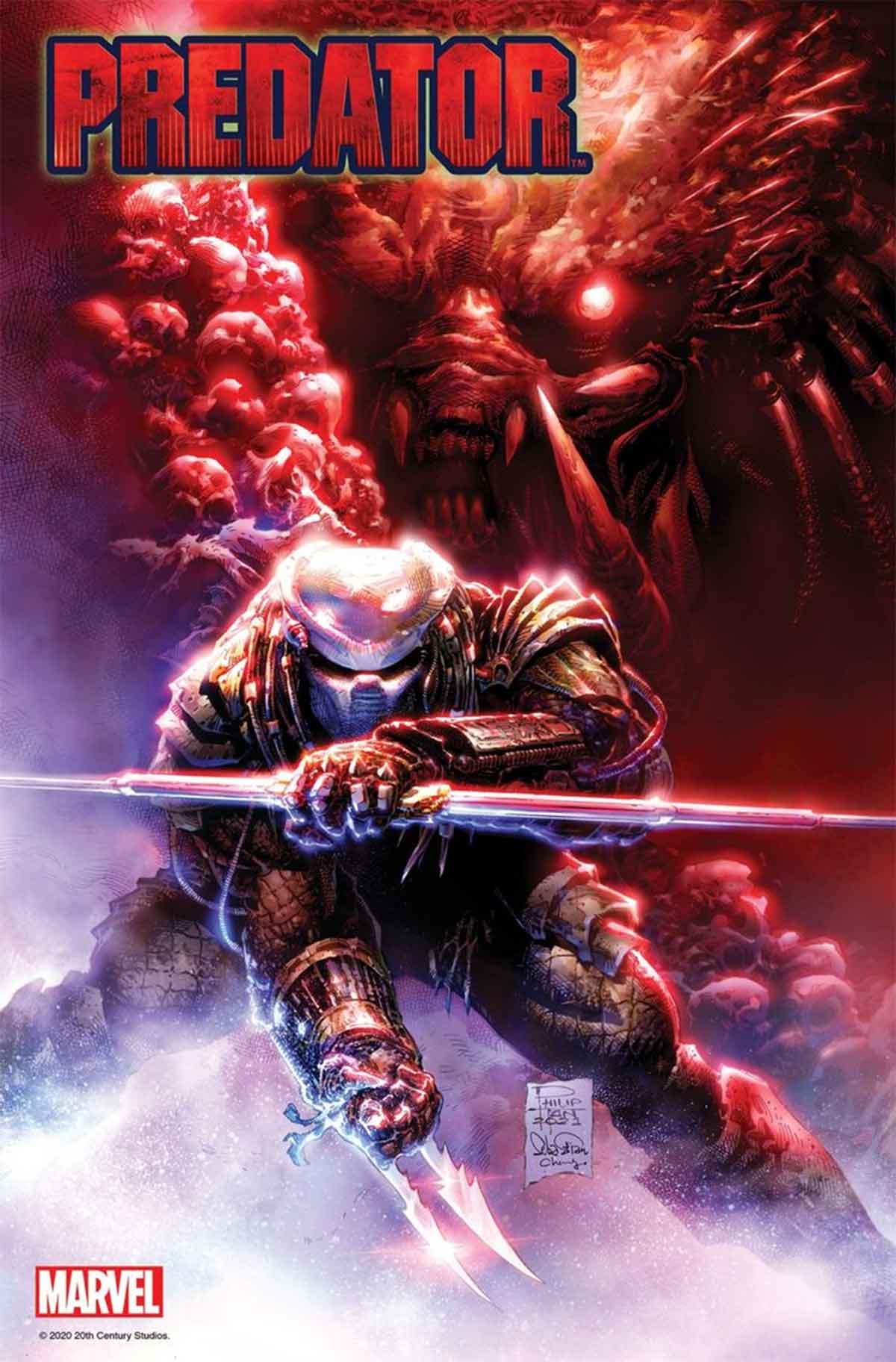 Predator se convertirá en la presa en Marvel