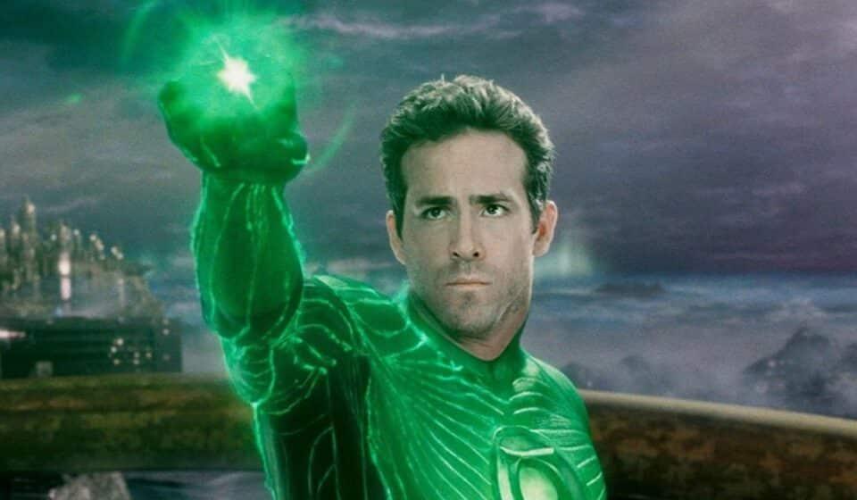 Ryan Reynolds conserva un objeto de Linterna verde